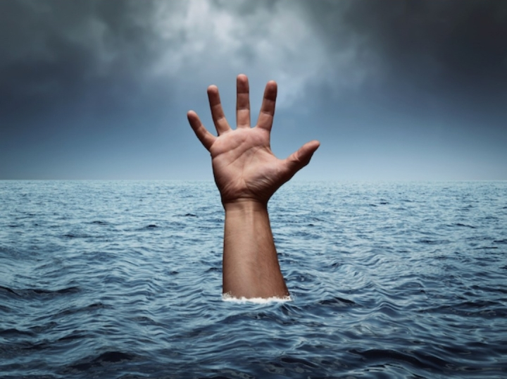 The day I nearlydrowned