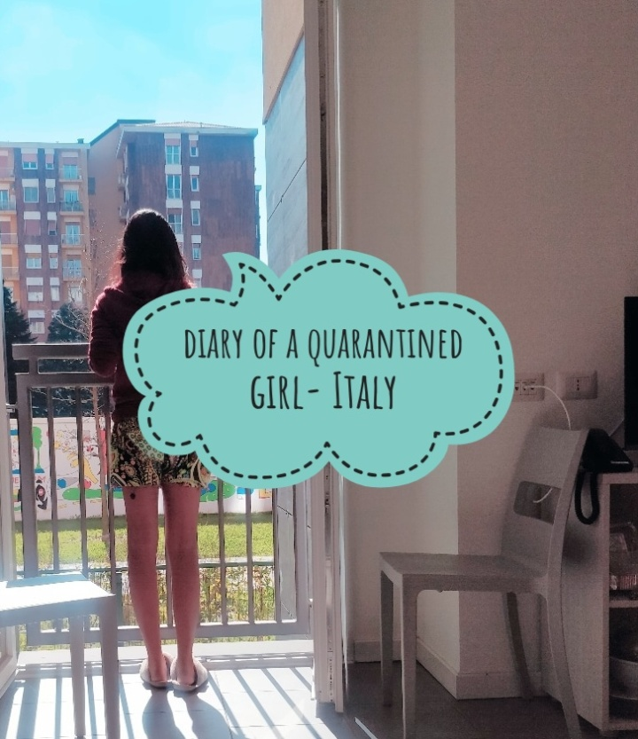 Diary of a Quarantined Girl-Italy