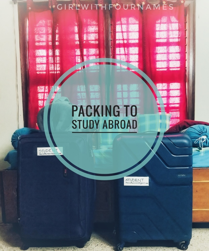 Packing to study abroad