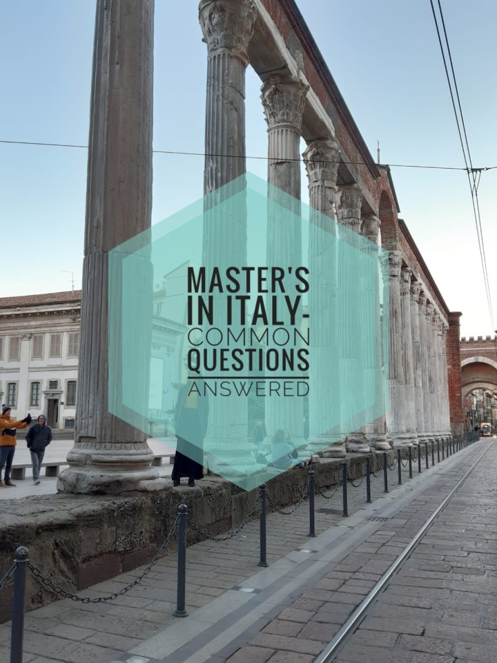 Master's in Italy-Common questions answered